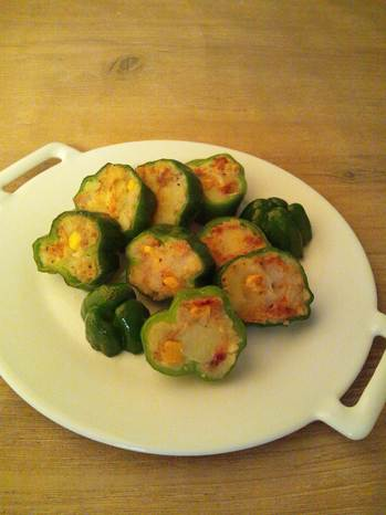 夏野菜の酢豚.JPG